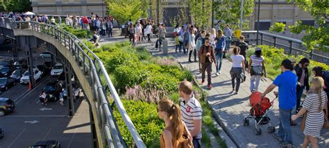 Designing A Garage high line park new york city zinco green roof systems