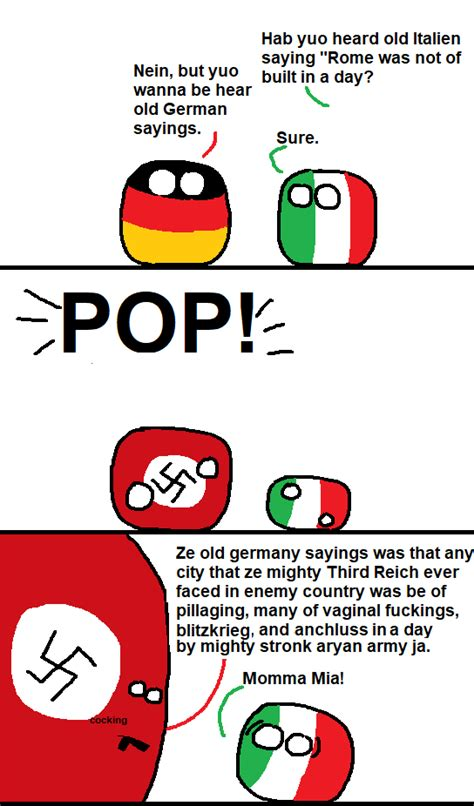 Countryball Meme - ze old german saying polandball s countryballs