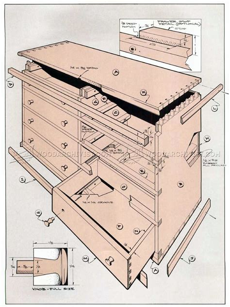 woodworking dresser plans weavers chest of drawers plans woodarchivist
