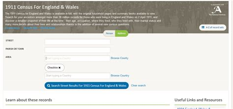 Search Census By Address Peckforton Light Railway Using Census Info To Create