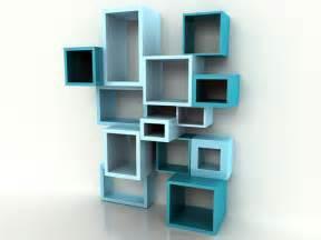 Bookshelves Modern Design Modern Wall Bookshelves Decosee