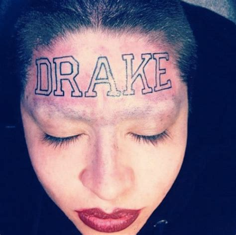 missinfo tv 187 the drake forehead tattoo the ugly truth