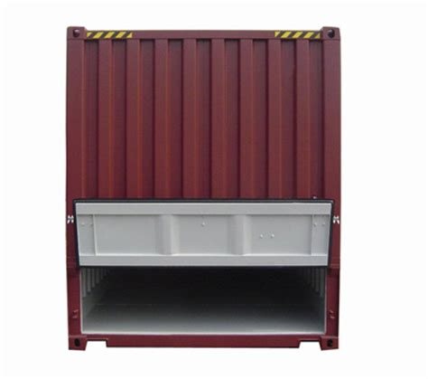 Open Rack Container by Specialised Shipping Containers Open Top Flat Rack
