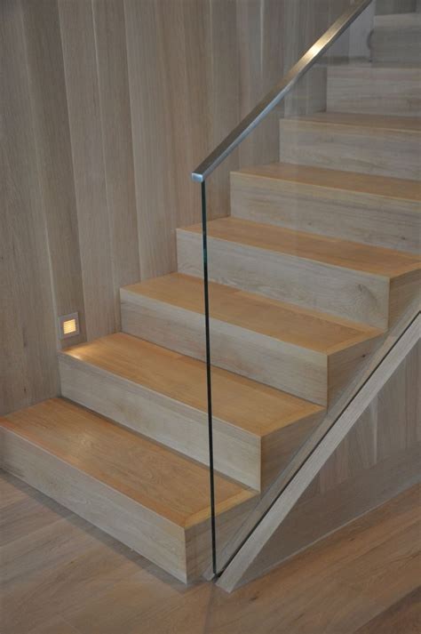 glass banister staircase a new giannetti home project modern shingle style beach