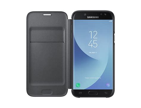 Samsung Galaxy J5 Pro Black samsung galaxy j5 pro wallet cover black malaysia