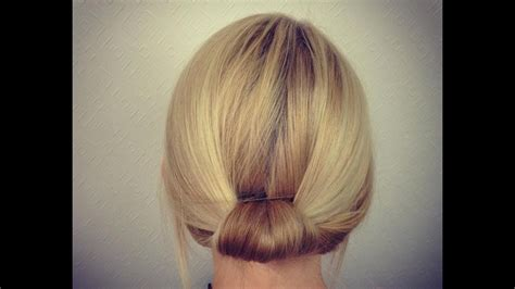 easy bridal work updo for to medium hair