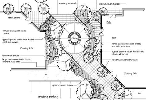 landscape layout cad clifford see landscape architecture portfolio sle
