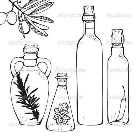 Oil Jar Coloring Page Loading