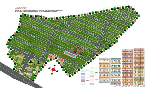 layout plan for land nbr green valley bagalur bangalore residential plot