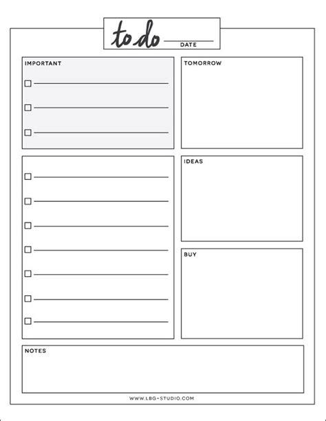 Daily To Do List Free Printable Lbg Studio Daily To Do List Template Printable