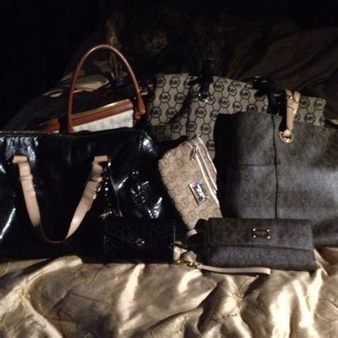 Anye Tote Bag Rosegold Anye mk backpacks at ross mksale