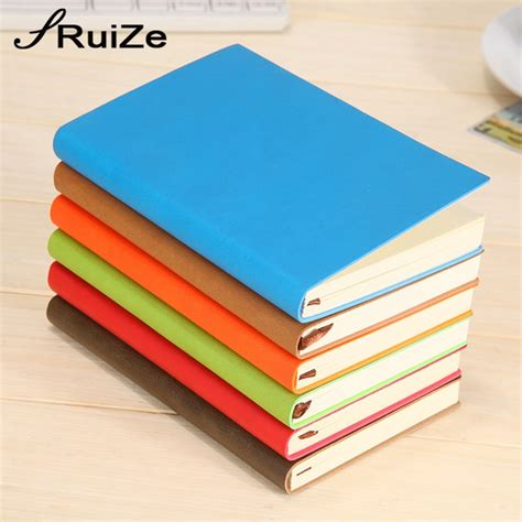 Small Note Book ruize 2017 soft cover pu leather pocket notebook a7 small