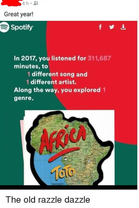 100 Memes In 3 Minutes - great year spotify in 2017 you listened for 311687