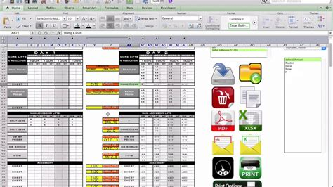 strength and conditioning templates free strength and conditioning excel template platinum