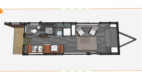 Tiny House Plans Archives Minimotives Tiny House Plans For A Gooseneck Trailer