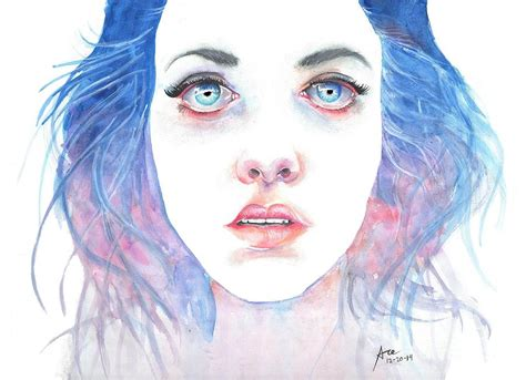 Yoga Inspired Home Decor agnes cecile inspired portrait painting by ace spencer