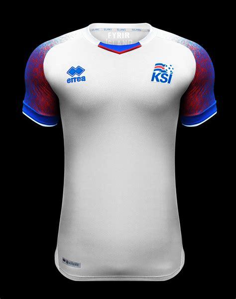 Islande Coupe Du Monde Errea Cr 233 E Les Nouveaux Maillots Islande 2018 Pour La