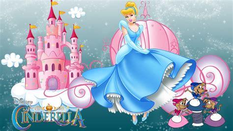 wallpaper disney tablet castle of princess cinderella cartoon walt disney desktop