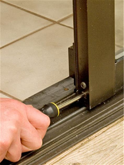 Adjust Patio Doors How To Fix A Sliding Screen Door