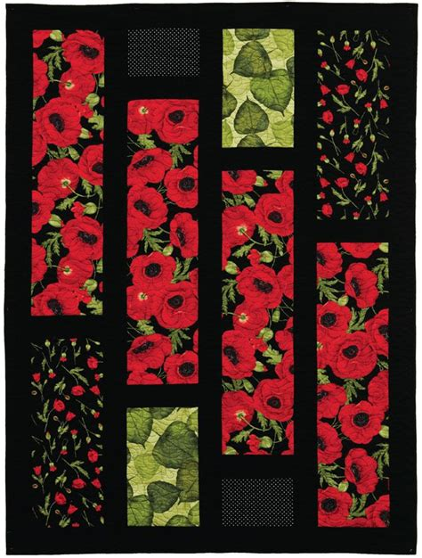 pattern for fabric poppy 130 best poppy quilts images on pinterest flower quilts
