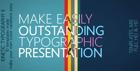 Kinetic Typography Powerpoint Template by Kinetic Typography By Mikka Videohive