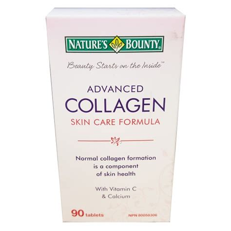 Nature S Health Collagen Complex buy nature s bounty advanced collagen skin care formula