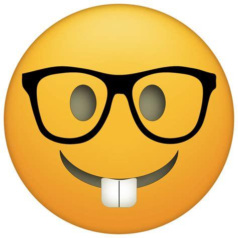 emoji nerd emoji nerd glasses png 2083 215 2083 felipe pinterest