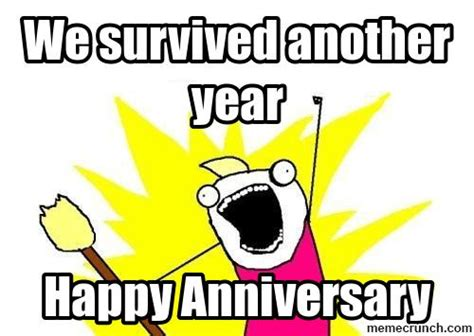 Anniversary Meme - happy work anniversary cartoon memes