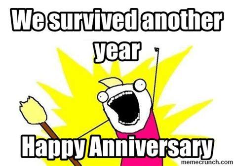Funny Anniversary Memes - work anniversary