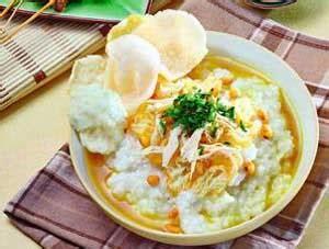 Panci Bubur Ayam resep bubur ayam kuah kuning khas daerah