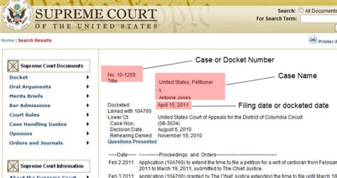Search Court Records By Number Docket Numbers Search Engine At Search