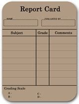 blank report card template 6 weeks okkwajo th 225 ng ch 237 n 2010