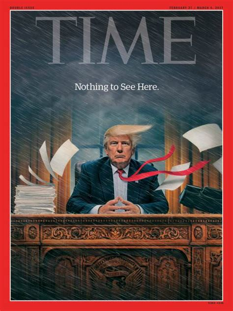 will donald trump cover the white house in gold marketwatch trump the story behind time s trump chaos cover time com