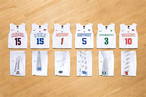 jersey design basketball 2015 elite inside access 25 years of ncaa uniform innovation nike news