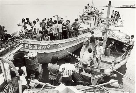 refugee boat from vietnam vietnamese refugees boat arrival national museum of