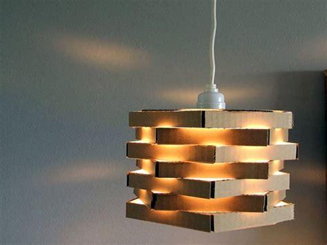 Used Pendant Lighting Pendant Light Diy With Used Cardboard