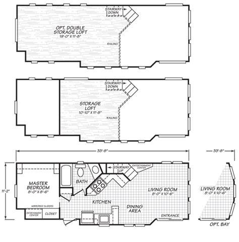 park model home floor plans this feels way too spacious for a park model home click