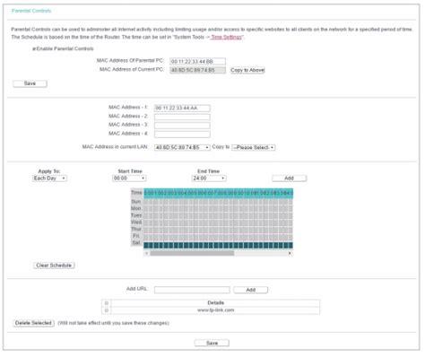 Tp 001 Set Jangkar how to set up parental controls on archer c2 v5 tp link