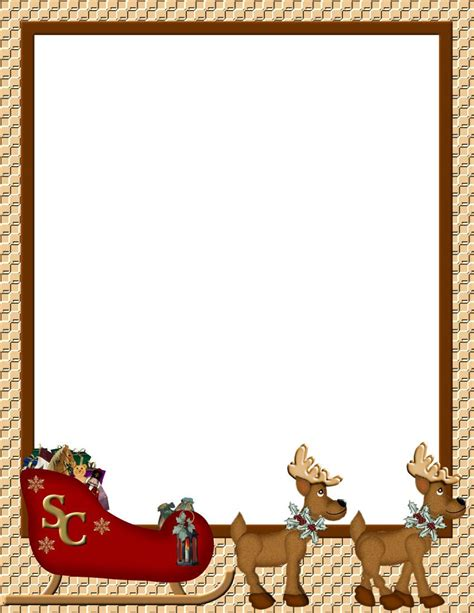 christmas stationery downloads christmas 1 free stationery com template downloads real