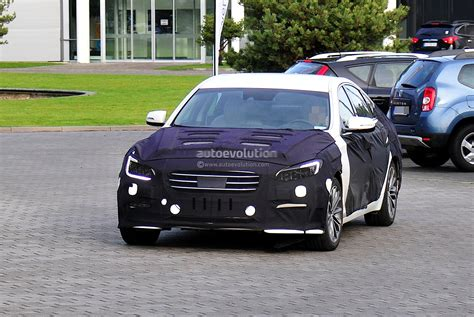 2014 Genesis Sedan by Spyshots 2014 Hyundai Genesis Sedan Autoevolution