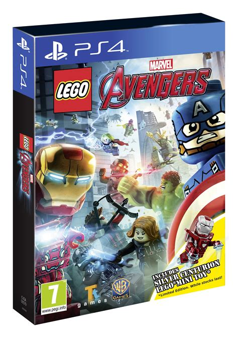 Ps4 Lego Marvel Avenger New review lego 5002946 silver centurion polybag