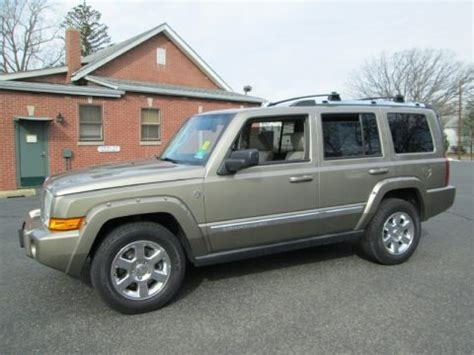 2006 Jeep Commander Specs 2006 Jeep Commander Limited 4x4 Data Info And Specs