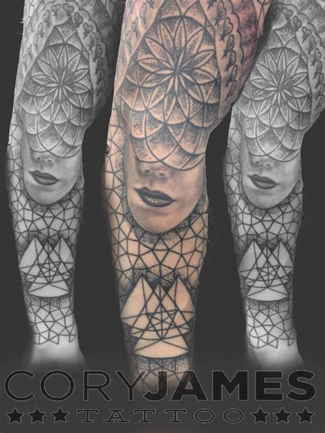geometric black and grey work by artist