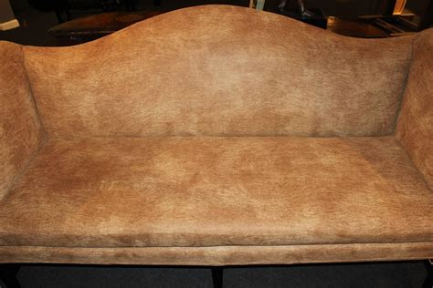 sofas for sale cork chippendale style mahogany camelback sofa in faux cork
