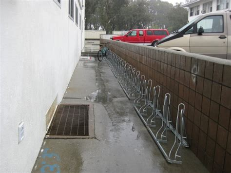 Angled Bike Rack by Angled Bike Racks
