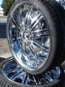 20 Inch Truck Wheels And Tires Chrome Wheels Tires Rims Velocity Tyfun Golden U2 Lowrider