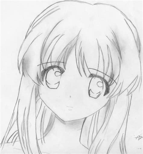 imagenes sad anime blanco y negro uno de los primeros dibujos by mila nyo on deviantart