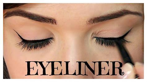 pencil eyeliner tutorial youtube how to apply eyeliner pencil cream gel liquid youtube