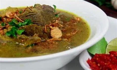 resep membuat soto ayam yang lezat menu buka puasa resep soto daging madura yang lezat