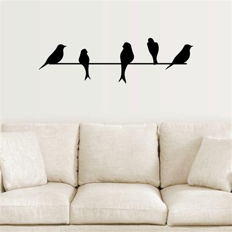 wall decor birds 15 ideas of abstract bird wall art